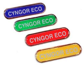 CYNGOR ECO bar badge